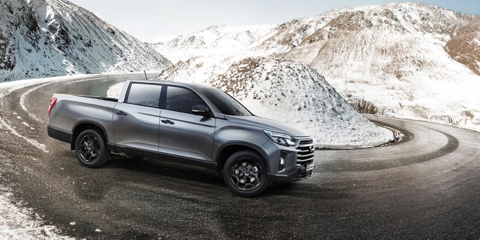 SsangYong - Musso - 4 Wheels On Demand