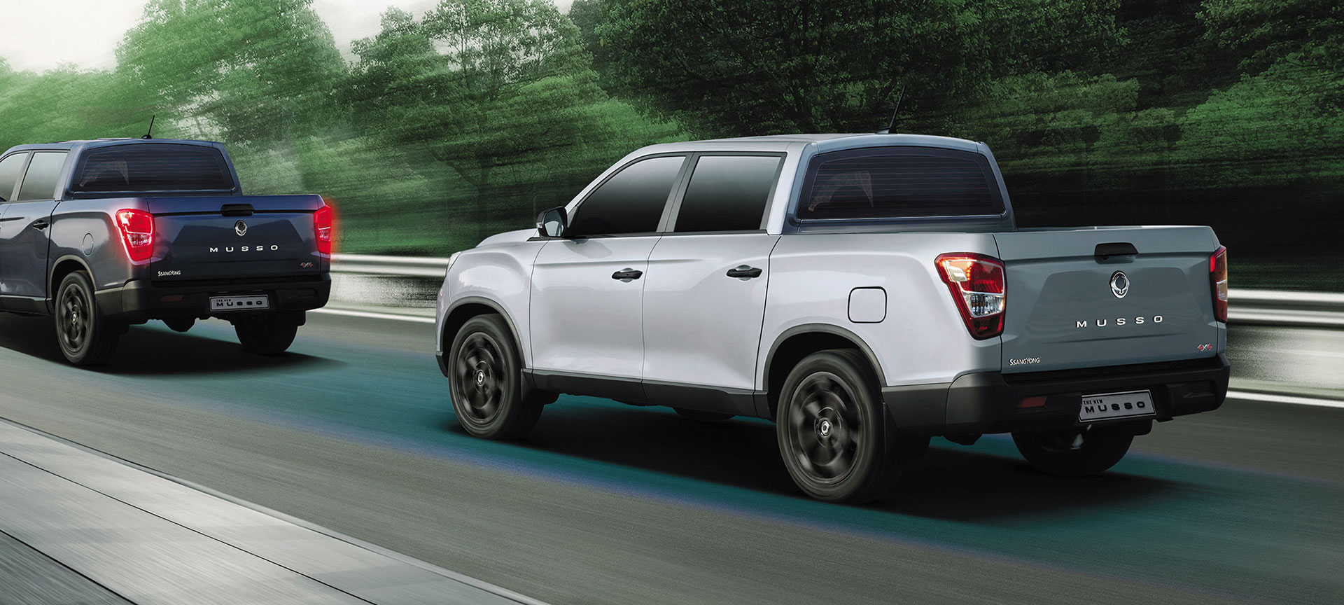 SsangYong - Musso - Safety