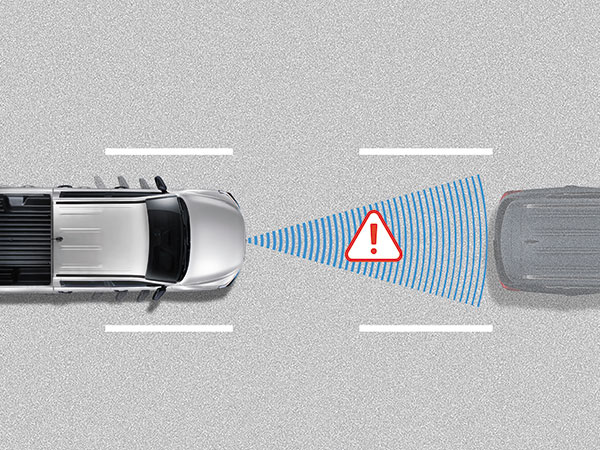 SsangYong - Musso - AEB with Forward Collision Warning (FCW)