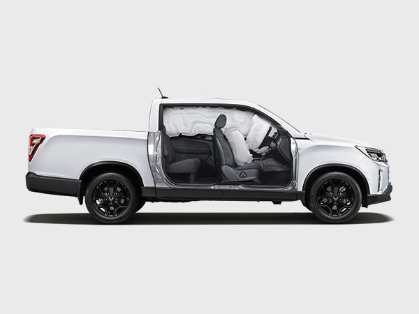 SsangYong - Musso - 6 Airbags