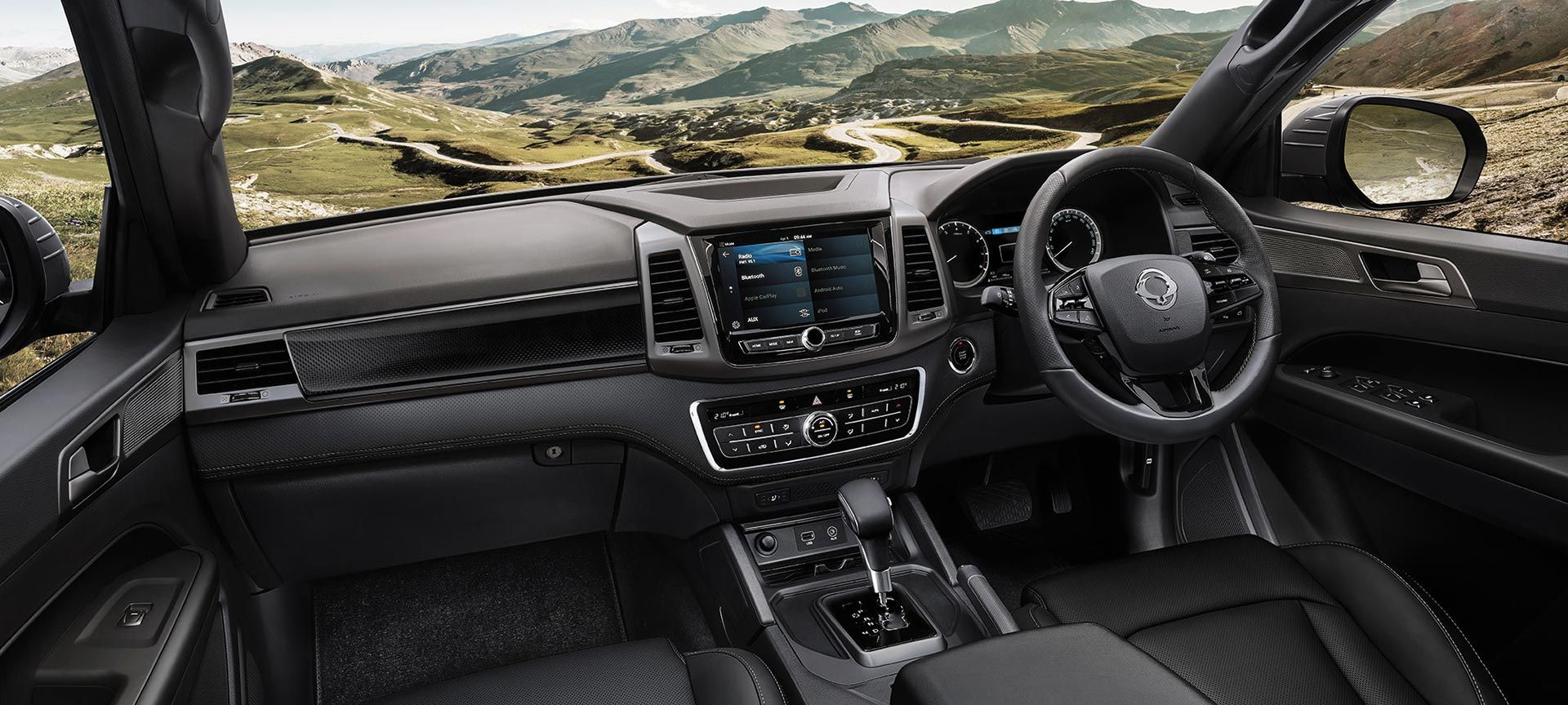 SsangYong - Musso - A Connected Drive
