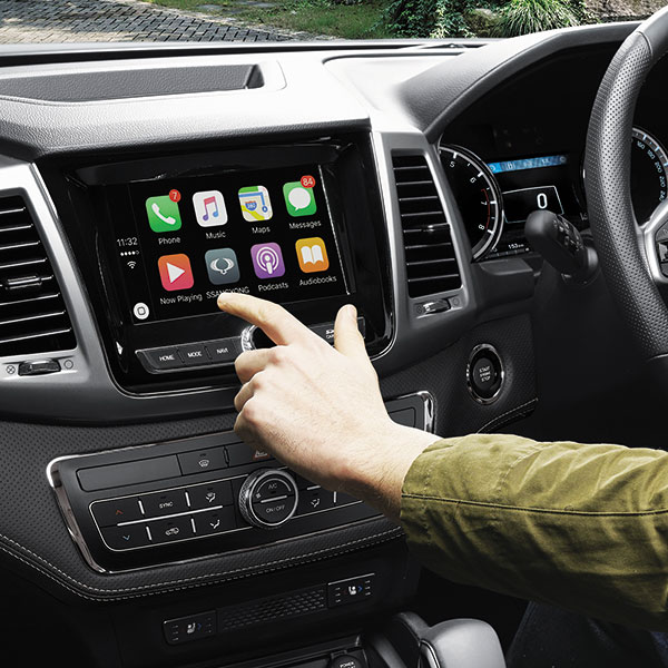 SsangYong - Musso - Apple CarPlay & Android Auto