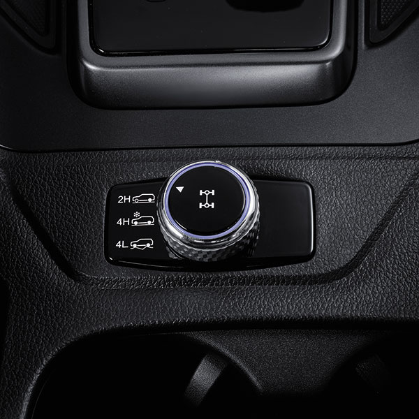 SsangYong - Musso - 4WD On Demand