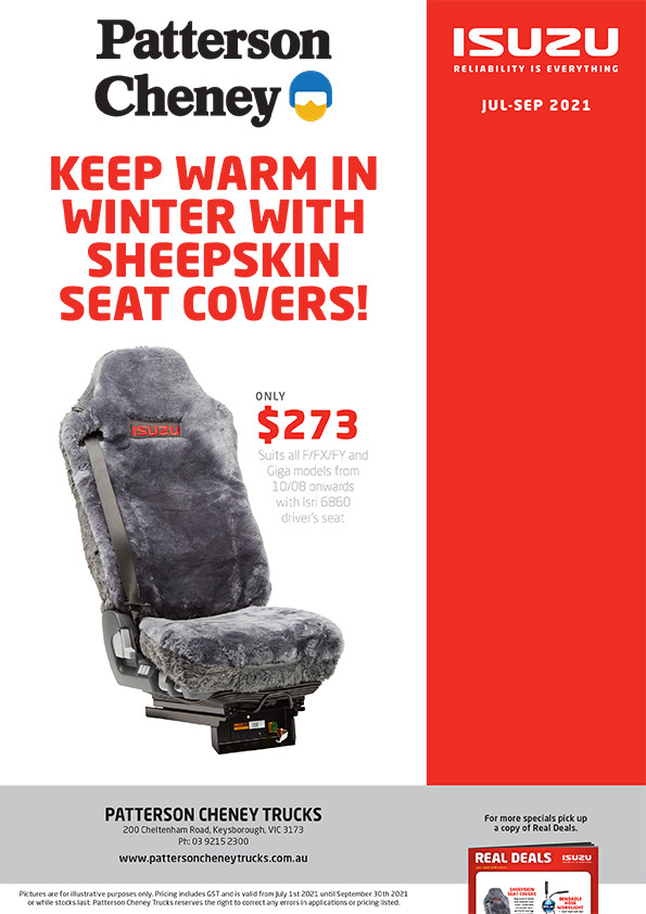 Patterson Cheney - Sheepskin Seat Covers Specials