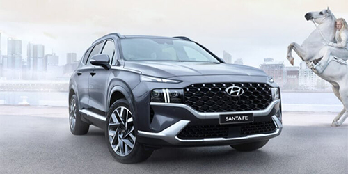Hyundai Santa Fe Range