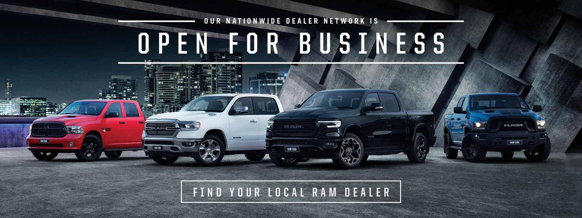 Ram Trucks Australia Open for Business