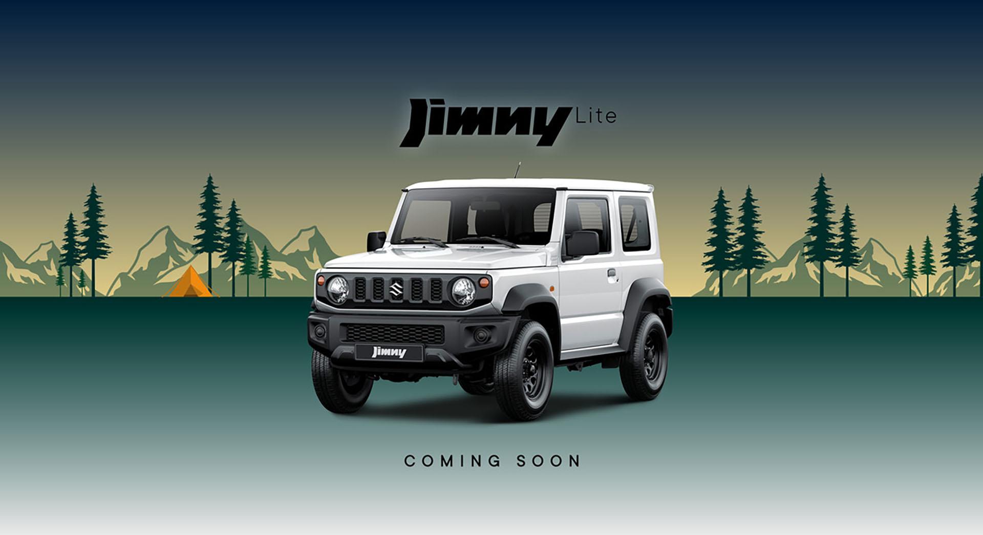 Suzuki jimmy lite 1920X1045 july21