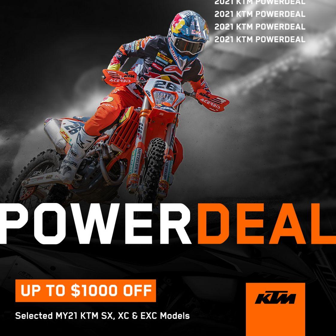 KTM POWER DEALS
