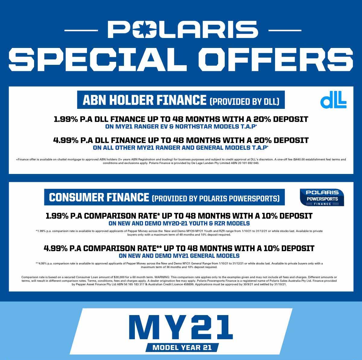 Polaris Specials