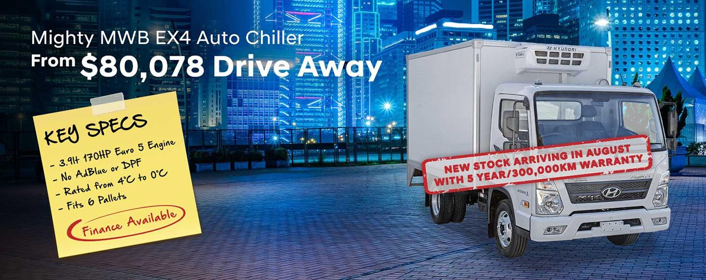 Hyundai Trucks Mighty MWB EX4 Auto Chiller