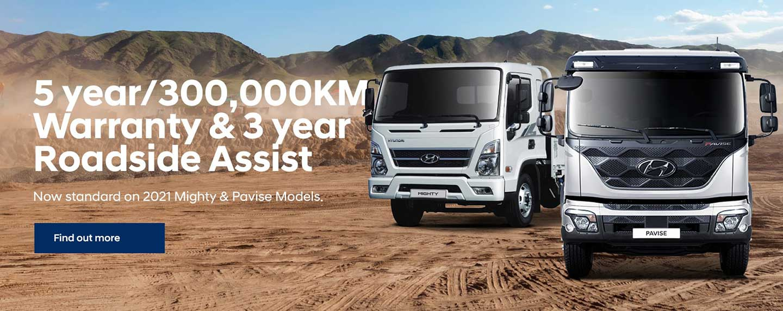 Hyundai Trucks Warranty & Roadside Assist