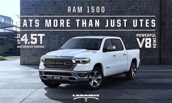 Ram 1500 Laramie | Ram Trucks Australia