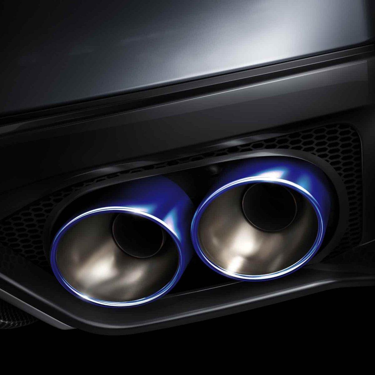 gtr-blue-titanium-exhaust