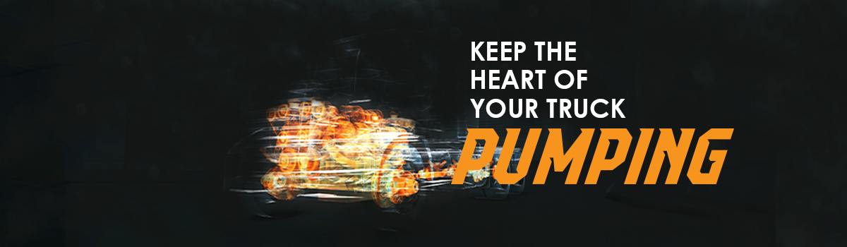 KEEP THE HEART OF YOUR TRUCK PUMPING Large Image