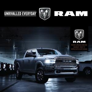 Ram 2500/3500 Laramie Heavy Duty Specifications