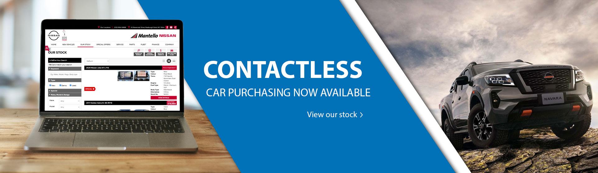 Mantello Nissan Click & Collect