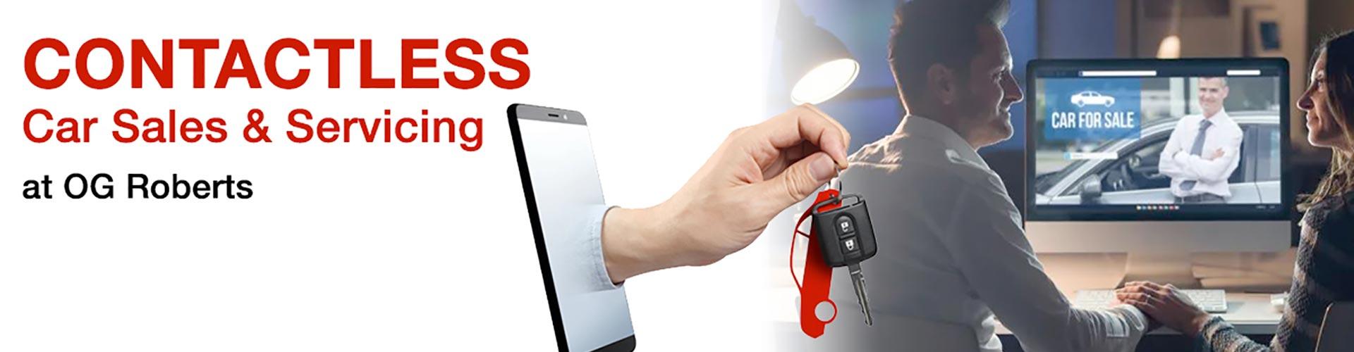 O G R Contactless Car Sales & Service
