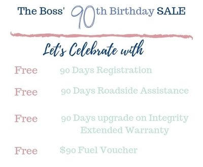 The Boss' 90th Birthday SALE image