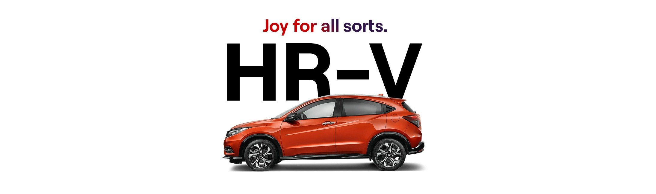 HR-V. Joy for all sorts.