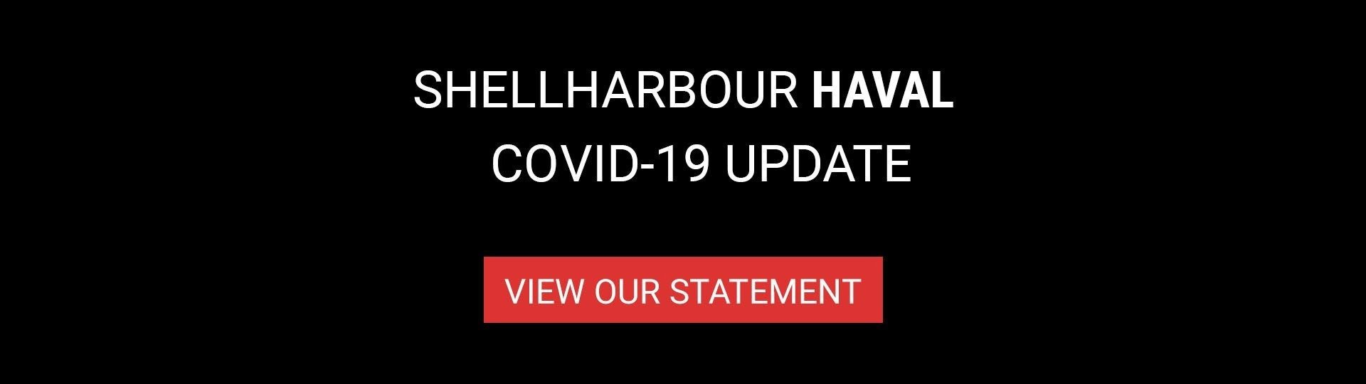 Shellharbour Great Wall - Covid-19 Statement