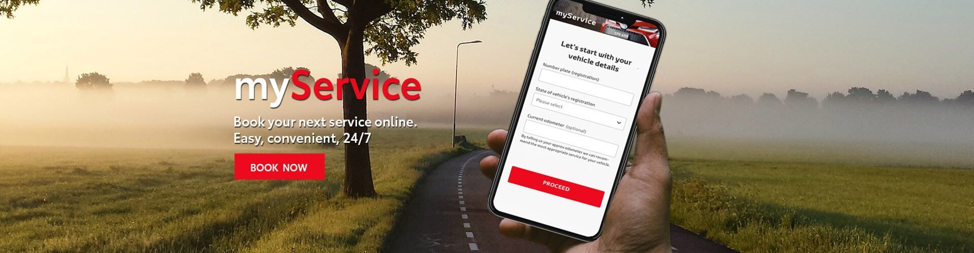 myService Online Service Booking - easy, convenient, 24/7