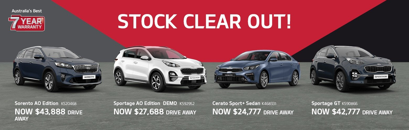 Newcastle City Kia Stock Clear Out