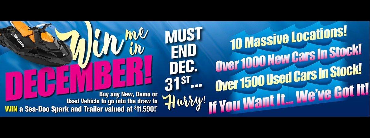 Win Me in December!