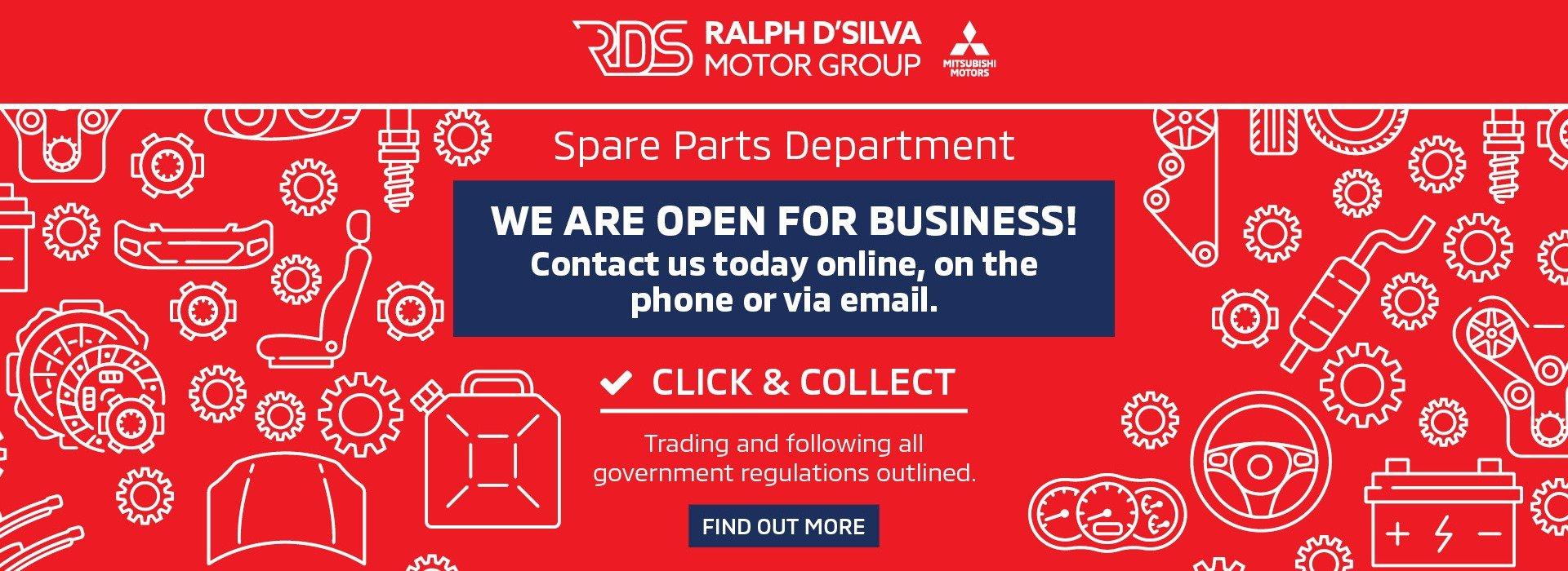 We Are Open - Parts