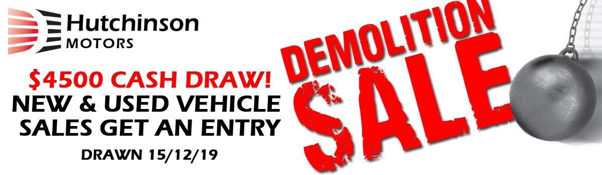 Demolition Sale! Large Image