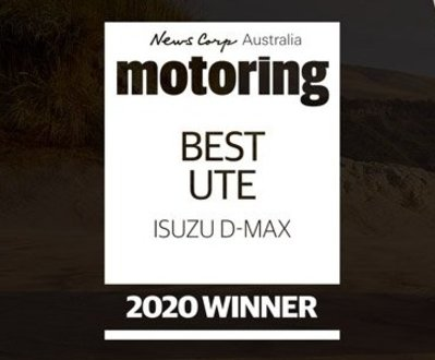 Isuzu D-MAX is News' Ute of the Year image