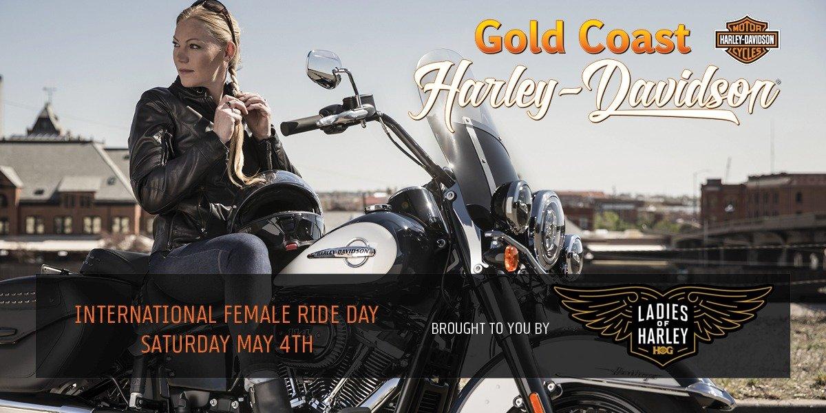 blog large image - Gold Coast Ladies of H.O.G - International Women's Day Ride