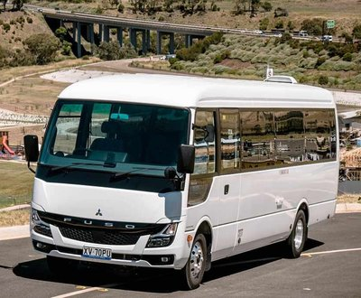 New Fuso Rosa Bus image