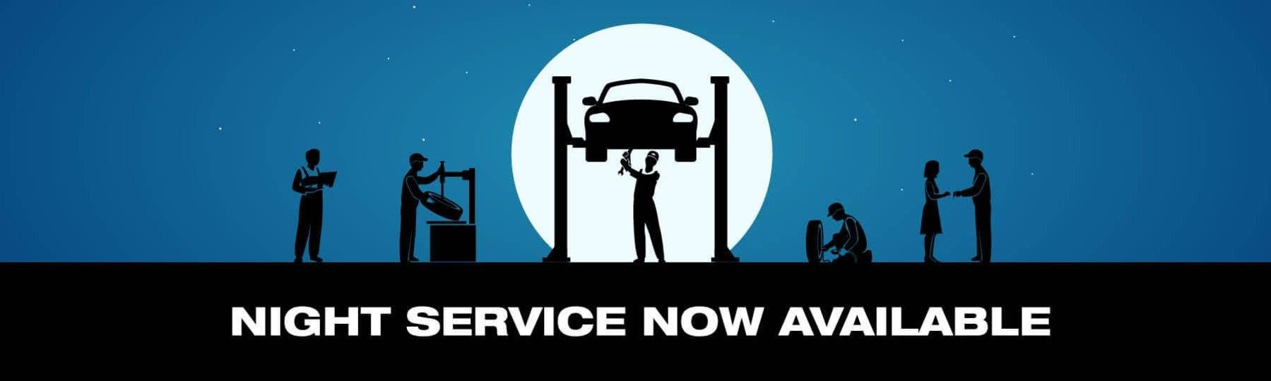 Night Service Now Available
