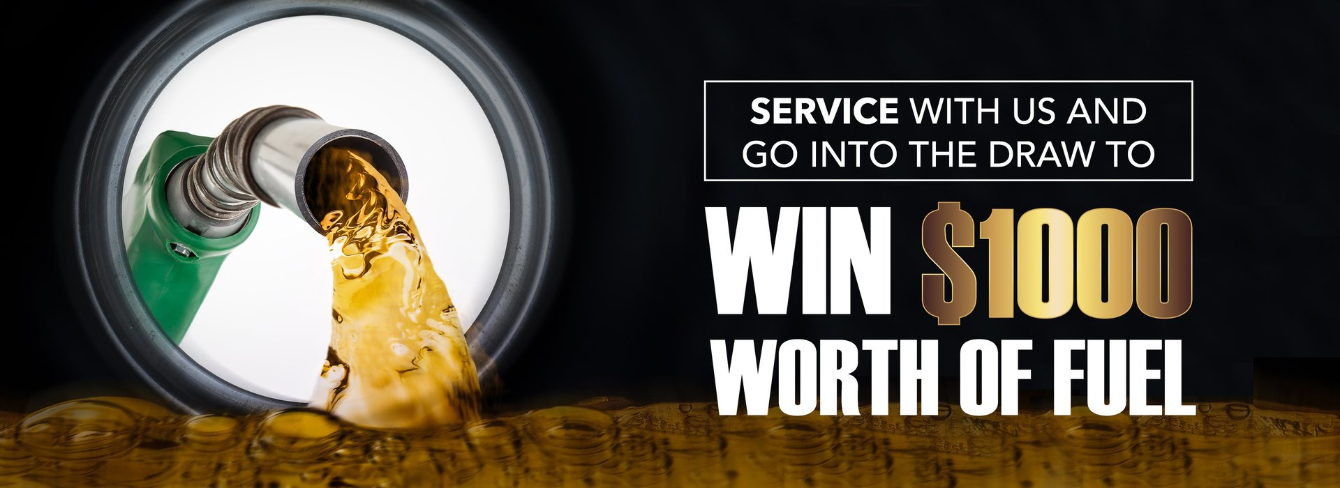 Service your car win fuel