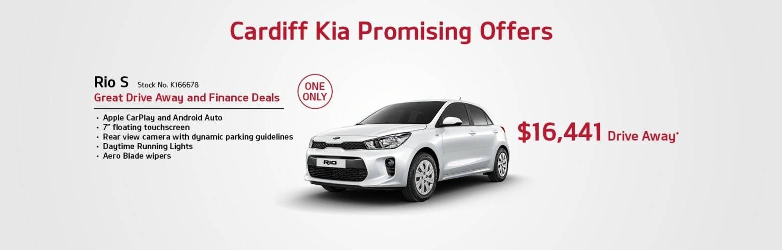 cardiff Kia promising offers