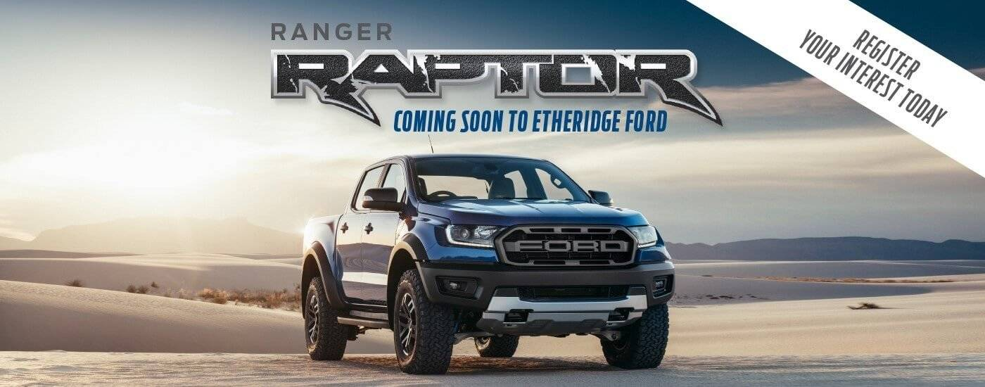 Ranger Raptor 2018 at Etheridge Ford