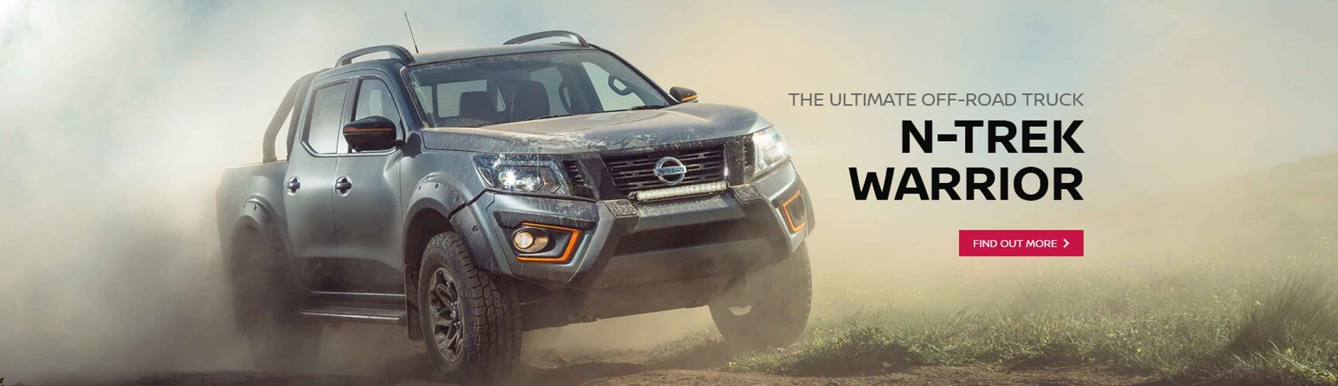 Find out more about the Nissan Navara N-Trek Warrior