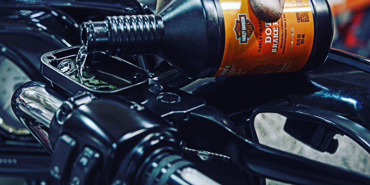 blog large image - Brake fluid guide for H-D® owners
