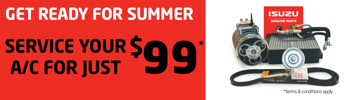 Get Ready for Summer with an air conditioning service for just $99* Large Image