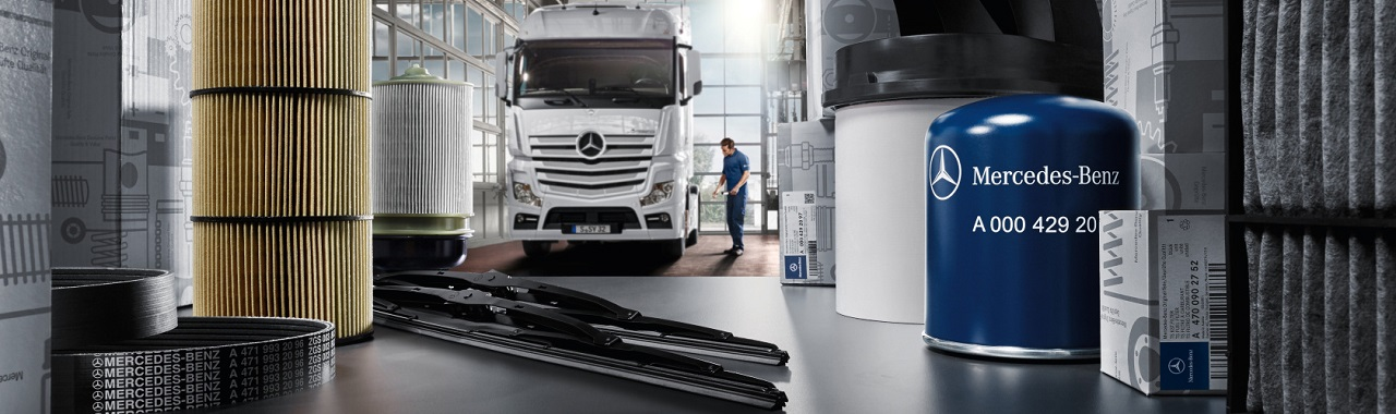 Mercedes Benz Truck Parts