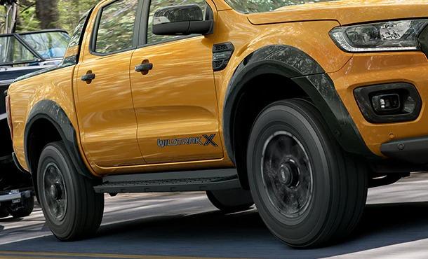 Ford Ranger Wildtrak X - Black Wheel Arch Flares