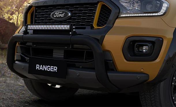 Ford Ranger Wildtrak X - Nudge Bar & LED Light Bar