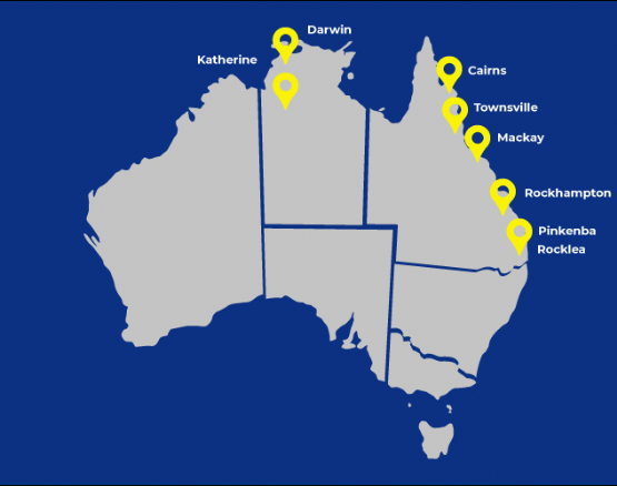 RGM - Our Locations Map