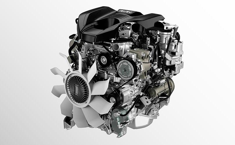 Heavy-Duty Isuzu Engine
