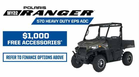 MY22 Ranger 570 HD EPS ADC