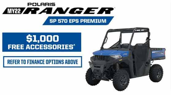 MY22 Ranger SP 570 EPS Prem