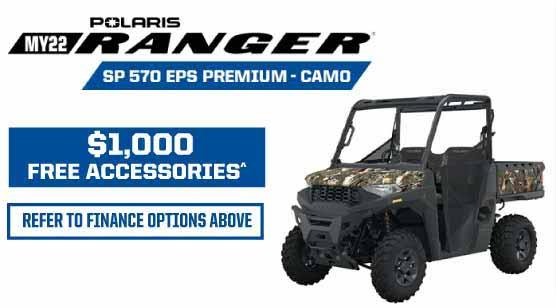MY22 Ranger SP 570 EPS Prem Camo