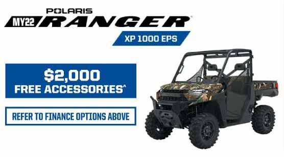 MY22 Ranger XP 1000 EPS