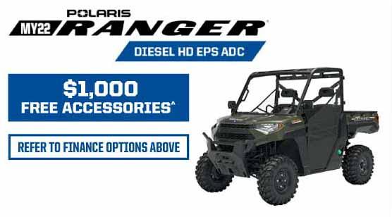 MY22 Ranger Diesel HD EPS ADC