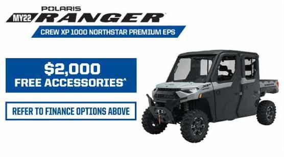 MY22 Ranger Crew XP 1000 Northstar Prem EPS